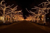 Подключение освещения зданий в Осинниках
