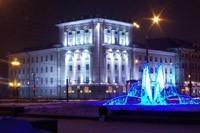 освещение фасадов в Осинниках
