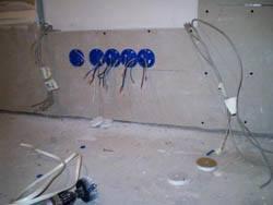 Электромонтажные работы в квартирах новостройках в Осинниках. Электромонтаж компанией Русский электрик